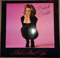 Belinda Carlisle - Mad About You 1986 12 inch vinyl single