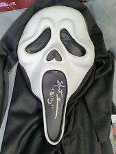 More details for skeet ulrich signed ghostface mask scream billy autograph jsa coa