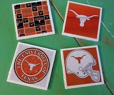 Texas Longhorns ceramic coasters (set of 4)