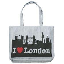 New Blue I Love London Bridge Women Tote Bag Shoulder Bag Handbag Canvas