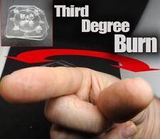 THIRD DEGREE BURN CARD TRICK WITHOUT DECK MAGIC MENTALISM LIGHTER BLISTER FINGER