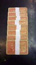 GREECE - 5 drachmas 1942 banknote bundles - (each bundle consists of 10 notes)