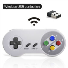 Wireless SNES Retro Controller Gamepad + USB receiver  for PC MAC Raspberry Pi
