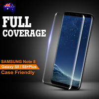 Galaxy S8 /Plus Note 8 3D Full Cover Tempered Glass Screen Protector for Samsung