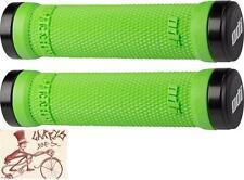 ODI RUFFIAN LOCK-ON GREEN BMX-MTB BICYCLE GRIPS