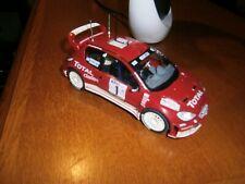 MAQUETTE PEUGEOT 206 WRC RALLYE AU 1/24