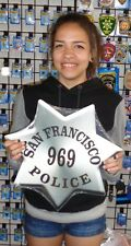 """Large San Francisco Police Badge all Metal Sign with your info 16 x 16"""""""