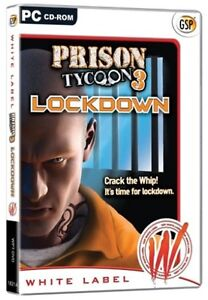 Prison Tycoon 3: Lockdown (PC CD) PC 100% Brand New