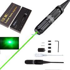 Laser Bore Sight kit .22 to .50 Caliber for Rifles Handgun Boresighter Green Dot