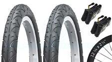 2 Bicycle Tyres Bike Tires - BMX / Freestyle - 12 ¼ x 2 ¼ - Bent Schrader Tubes