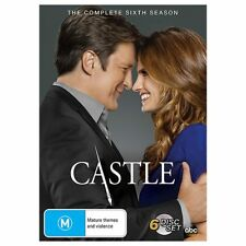 Castle: Season 6 DVD Box Set - Brand New/Sealed - Region 4
