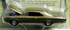 RACING CHAMPIONS 66 1966 PONTIAC GTO CLASSIFIED CLASSIC COLLECTIBLE CAR AUTH RRs