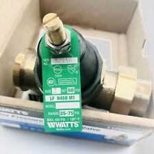 "WATER PRESSURE REDUCING VALVE WATTS LFN45BUM1, 1"" LED-FREE"