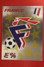 Panini EURO 96 N. 175 BADGE FRANCE New With BLACK back TOPMINT!!