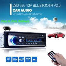 Radio Coche 1 DIN Bluetooth In-Dash 12V SD/USB/AUX FM Estéreo MP3 Reproductor