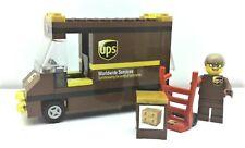 LEGO City Great Vehicles UPS Set Truck Box Hand Truck Minifigure Ready to Play