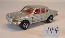 Majorette 1/60 Nr. 249 Mercedes Benz 450 SE silbermetallic mit Stern Nr.3 #744