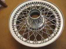 Jaguar XK 140 150  60 spoke 16 inch Dunlop wire wheel