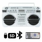 Lasonic i-931BT Portable AM/FM Radio Bluetooth Ghetto Blaster Boombox Speakers /