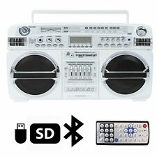 Lasonic i-931BT Portable AM/FM Radio Bluetooth Ghetto Blaster Boombox Speakers /