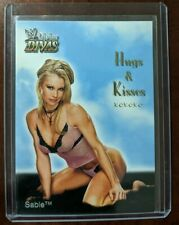 2003 FLEER WWE DIVINE DIVAS - Sable - Hugs & Kisses - 1 of 14 HK ô¿ô