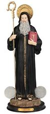 16 Inch St Saint San Benito Abad Santo Statue Figurine Figure Religious Decor