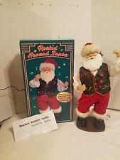 Animated Rockin' Around Santa Claus Dancing Christmas Figure Brenda Lee Music