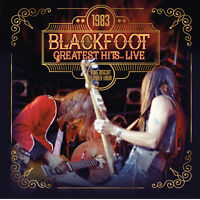 BLACKFOOT - Greatest Hits... Live 1983. New LP + Sealed. **NEW**