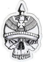Prussian Skull cutout patch Death War Brandenburg Berlin Duchy Konigsberg Poland