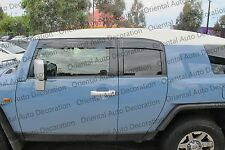 Premium Weather shields Weather Shields Window Visors Toyota FJ Cruiser 11-17