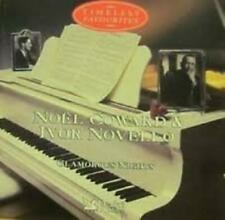 Noel Coward and Ivor Novello Timeless Fa CD Incredible Value and Free Shipping!