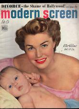 Modern Screen Feb 1950 Esther Williams-Monty Clift-John Derek-Judy Garland...