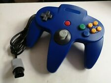 NINTENDO 64 BLUE CONTROLLER CONTROL GAME PAD * NEW N64