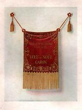▬► PUBLICITE ADVERTISING AD CARON VOEU DE NOËL 1948