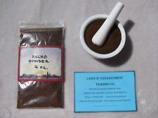 NEW MEXICO PURE ANCHO CHILE POWDER  4 OUNCES  Fresh!!!  *Free Shipping for USA*