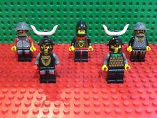 Lego® Figuren, Classic Ritter, Knights Kingdom 1, 5 Stück, sehr gut, Set 10