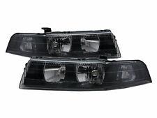 LANCER EVOLUTION EVO 6 MK6 98-01 4D Clear Headlight Black V2 for Mitsubishi LHD