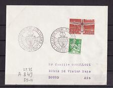 ec62/ Enveloppe   2è centenaire Dom Cellier  Bar le Duc     1962