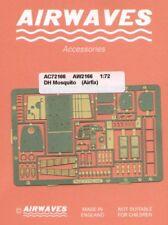 Airwaves 1/72 de Havilland Mosquito etch for Airfix kit # AEC72166