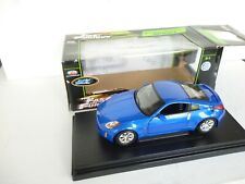 Ertl 1/18 Scale Diecast - 33821 2003 Nissan Z Fast and the Furious Blue In Box