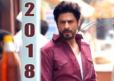 Shahrukh Khan Wandkalender 2018 mit Spiralbindung (13 Blätter, Farbig) NEU