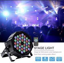 U`King 72W Stage Lighting 36 LED RGB DMX512 Remote PAR DJ Disco Party Show Light