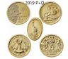 2019 P+D American Innovation Dollar 8 Coin Set - DE PA NJ GA