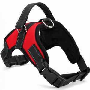 Non-Pull Dog Harness Adjustable Breathable Comfort for Small Medium Large Dogs