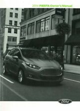 2014 Ford Fiesta Owner Manual User Guide Reference Operator Book Fuses Fluids