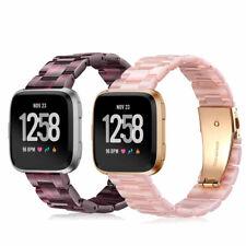 For Fitbit Versa / Versa Lite Watch Bands Premium Resin Strap Wrist Steel Buckle