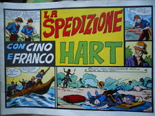 Collana Albi CINO e FRANCO n°6 1939 Spedizione HART - Ristampa Anastatica [G258]