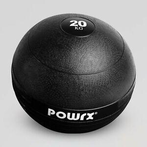 POWRX Slamball Medizinball Gymnastikball Fitnessball 3 - 20 kg I Color Pop