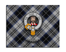 Menzies Clan Mouse Pad - Scottish Design Mat - High Quality - Tartan