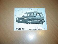 PHOTO DE PRESSE ( PRESS PHOTO ) Land Rover Discovery ES R0125